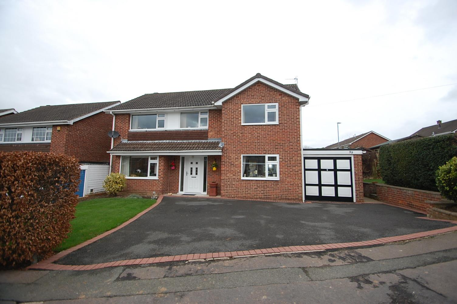 4 Bedrooms Detached House for sale in Woodside, Ashby-De-La-Zouch
